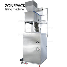 ZONEPACK 10-999g Large Capacity Automatic Filling Sealing Machine Food Coffee Bean Grain Powder Bag Back Seal Packaging Machine