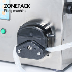 ZONEPACK ZS-YT80 Semi Automatic Small Perfume Oil Bottles Liquid Filling Machinery For Olive Oil Water