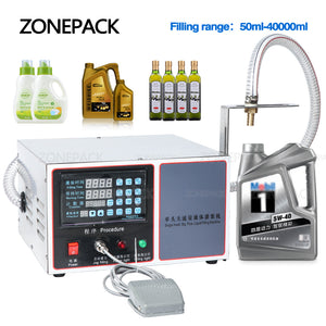 ZONEPACK GZ-GFK17C Automatic Filling Machine Large Capacity for Gel Laundry Detergent Shampoo Oil Juice Water Milk Liquid Bottle Filling Machine