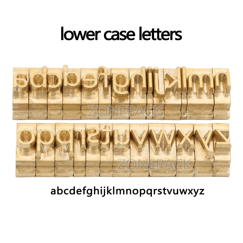 custom link for Microsoft Elegant Black Lower Case Brass Letter