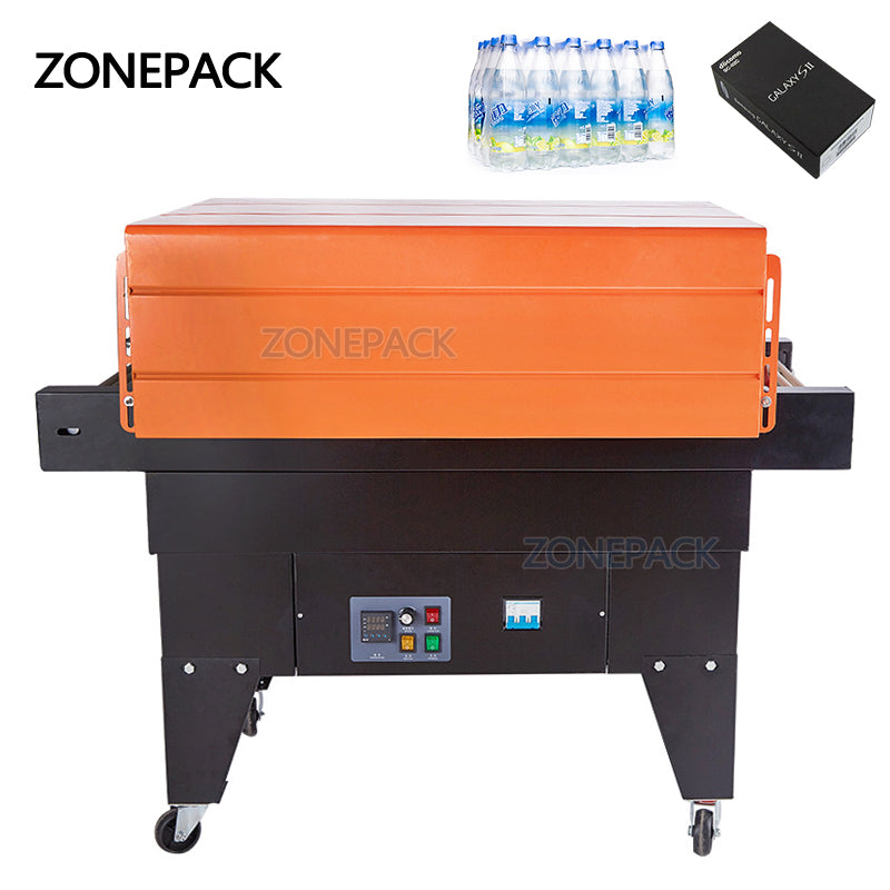 ZONEPACK Heat Sealing Package Machine Automatic Shrink Wrapping Machine Plastic Packing Machine Tableware PVC Film Machine