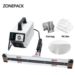 ZONEPACK Instant Hot Plier Portable Impulse Sealer Sealing Machine for Aluminum Vacuum Composite Film Mask Packaging Machine