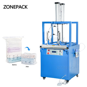 ZONEPACK ZS-XD600 Pouch Vacuum Heat Package Sealing Machine Manufacturers Semi Automatic Plastic Bags Packing Machine