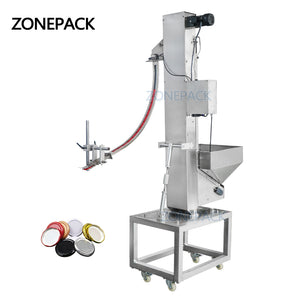 ZONEPACK ZS-SLJ1 Automatic Customize Plastic PET Bottle Cap Feeding Machine