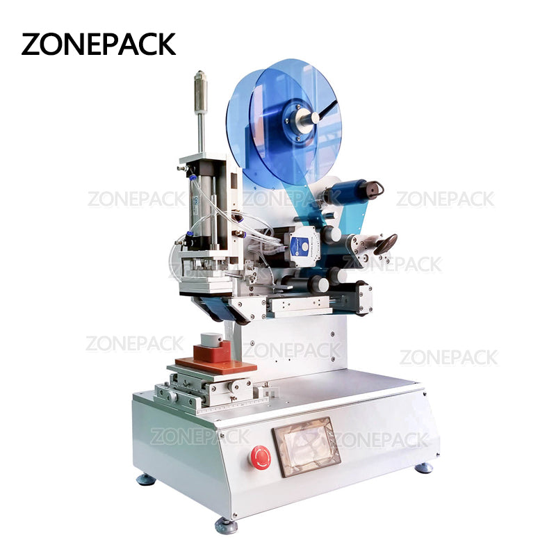 ZONEPACK XL-T807 High Precision Labeling Machine Electronic Components Self-adhesive Label Transparent Label