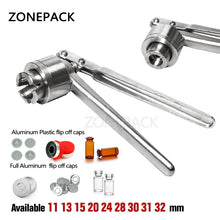 ZONEPACK Pharmaceutical Vial Crimper Medical Bottle Crimping Capper Glass Bottle Capping Tool
