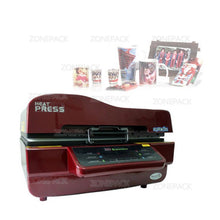 ZONEPACK Printer For Fabric Logo Printing Machine Phone Case Printing Machine with Mini Sealing Machine