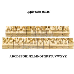 custom link for Times New Roman Upper Case Brass Letter