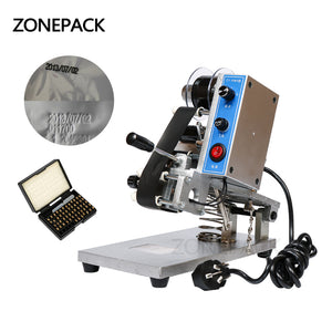 ZONEPACK  ZY-RM5 Color Ribbon Hot Printing Machine,Heat ribbon printer ,film bag date printer(220V/50Hz)