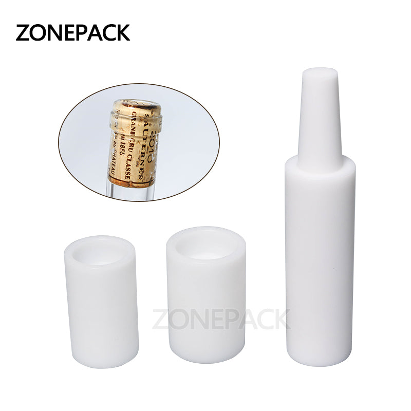 ZONEPACK Manual Red Wine Brew Tamponade Device Brewed Red Wine Bottle Capping Machine Cork Into Bottle Tools Wine Stopper Pusher