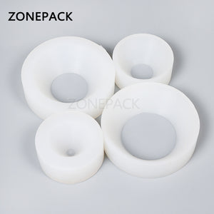 ZONEPACK Cap Screwing Chuck, Bottle Cap Adoptor of Capping Machine, Silicone Capping Chuck,10-50mm, Anti-wear