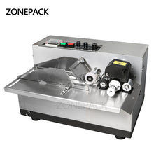ZONEPACK  MY-380 Ink Roll Coding Machine,Card Printer,Produce Date Printing Machine,Solid Ink Code Printer(Painting type)220V
