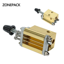 ZONEPACK Mould Holder of Ribbon Printer DY8 HP241 Coding Device Heat Head of Stamping Printer Heat Block Printer Letter Die Cave
