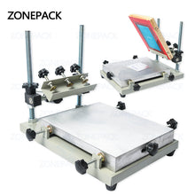 ZONEPACK High Precision Stencil Printer Silk Screen Printer SMT Solder Paste Silk Screen Printing Machine For Metal Plastic Wood