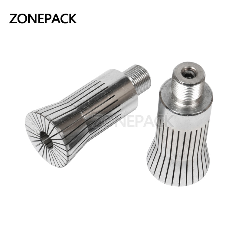 ZONEPACK Capping Head for New Perfume Cap Crimping Machine Capper Metal Cap Press Capping Machine