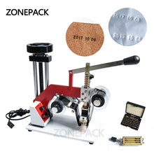 ZONEPACK ZY-RM5-E(2) Color Ribbon Hot Printing Machine,Date Code Ribbon Printer,Hot Foil Stamping Machine,Batch Number Foil Embosser