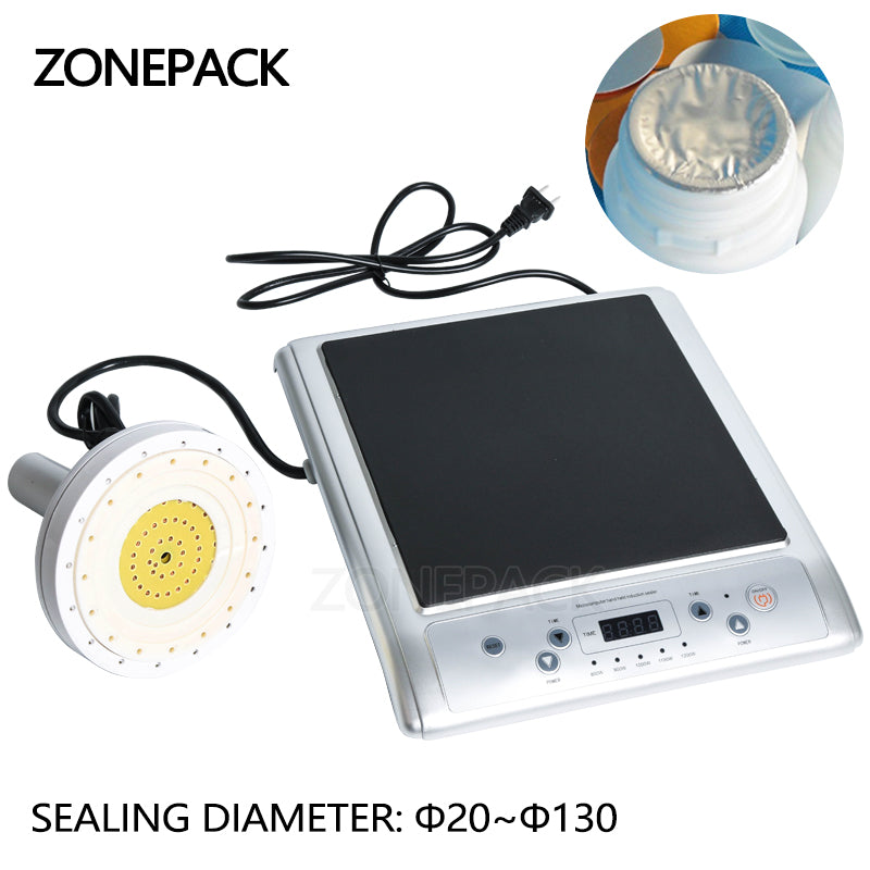 ZONEPACK GLF-500L Microcomputer Hand-held Electromagnetic Induction Aluminum Foil Sealing Machine Continuous Induction Sealer