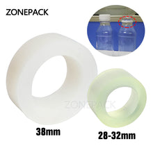 ZONEPACK  Capping Machine Chuck Rubber Mat for Capper 28-32mm 38mm Round Plastic Bottle With Security Ring Silicone Capping Chuck
