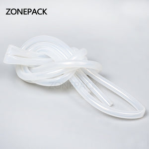 ZONEPACK Length 2m Inside Diameter 7mm Round Tube Connect to Filling Machine Plastic Pipe for Electric Filling Machine