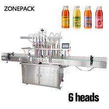 ZONEPACK Automatic Beverage Production Line Cans Beer Oil Water Juice Liquid Filling Machine With Conveyor PLC Control Send