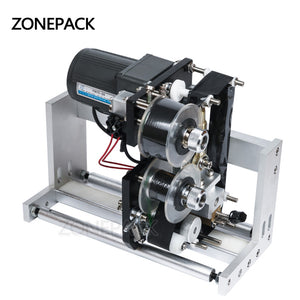 ZONEPACK FREE SHIPPING Expiry Date Ribbon Coding Label Printer Hot Ribbon Coder For LT-50 Labeling Machine