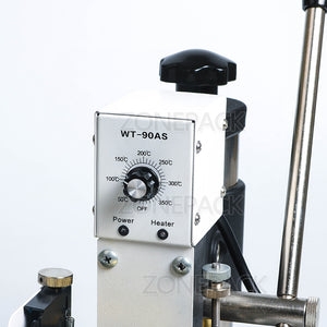 ZONEPACK Hot Stamping Machine For PVC Card Member Club Hot Foil Stamping Bronzing Machine