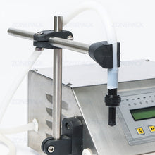 ZONEPACK 5ml~3500ml GFK160 Alcohol Liquid Water Filling Machine Pump Numerical Filler Digital Control Drink Water Filler