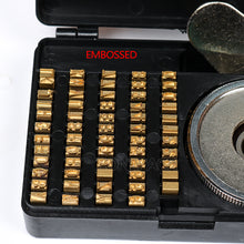 ZONEPACK Heat Stamping Alphabet Set Heat Press Machine FR900 FR770 Alphabet Set Date Coding Machine Letter Numbers Brass Number for FR770