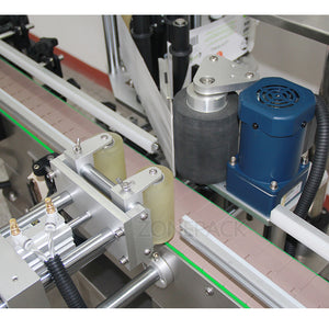 ZONEPACK Automatic Tube Round Wine Can Jar Water Milk Bottle Sticker Roll Labeling Machine For Factory