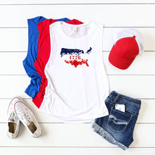 Ombre USA 1776- Muscle Tank
