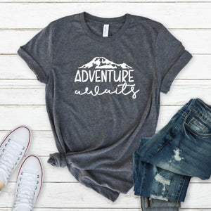 Adventure Awaits-Plus Sizes