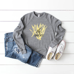 Ah Shucks! Crewneck Sweatshirt