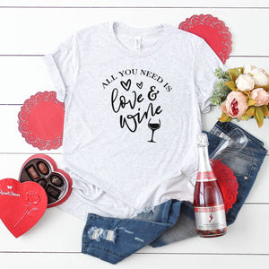 All You Need Is Love & Wine-Plus Sizes