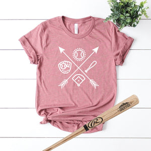 Baseball Arrows-Plus Sizes