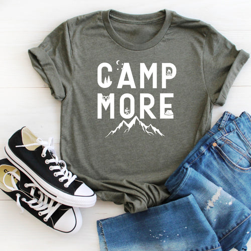 Camp More (White)-Plus Sizes