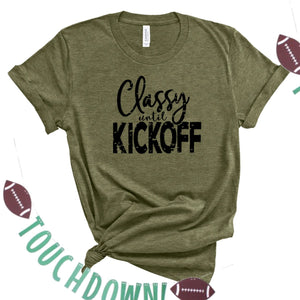 Classy Until Kickoff-Plus Sizes