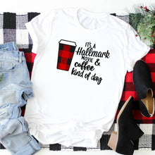 It's A Hallmark Movie & Coffee Kind Of Day-Plus Sizes