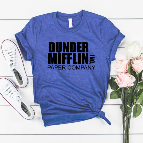 Dunder Mifflin-Plus Sizes