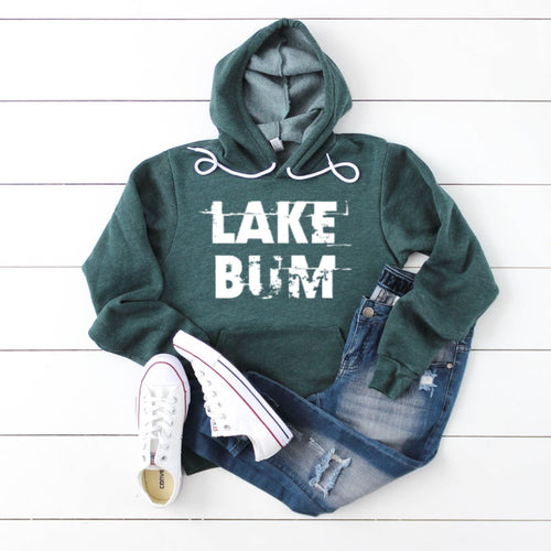 Lake Bum Hoodie-sponge Fleece