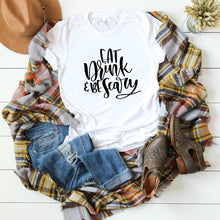 Eat Drink & Be Scary-Plus Sizes