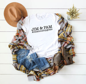 Jim & Pam #relationshipgoals-Plus Sizes