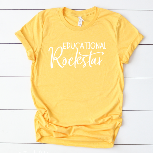 Educational Rockstar-Plus Sizes
