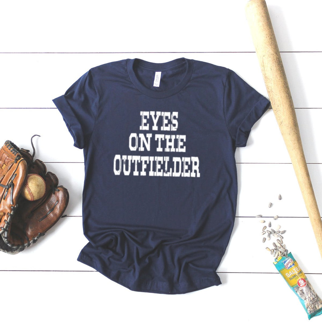 Eyes On The Outfielder-Plus Sizes