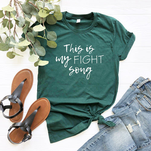 This Is My Fight Song-Plus Sizes