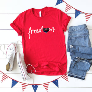 4th of July Graphic T_Shirt!-Freedom!