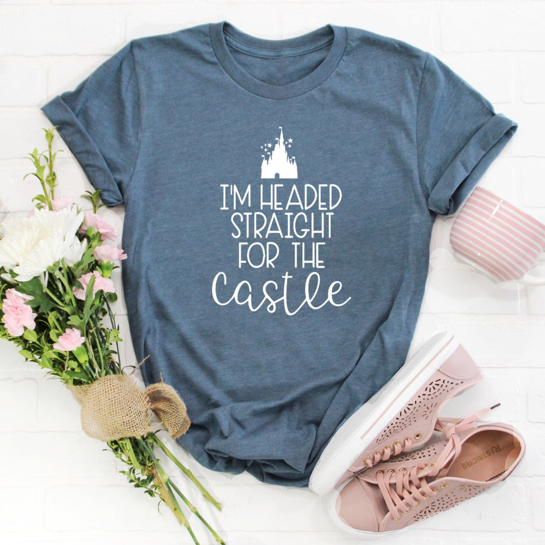 I'm Headed Straight For The Castle-Plus Sizes