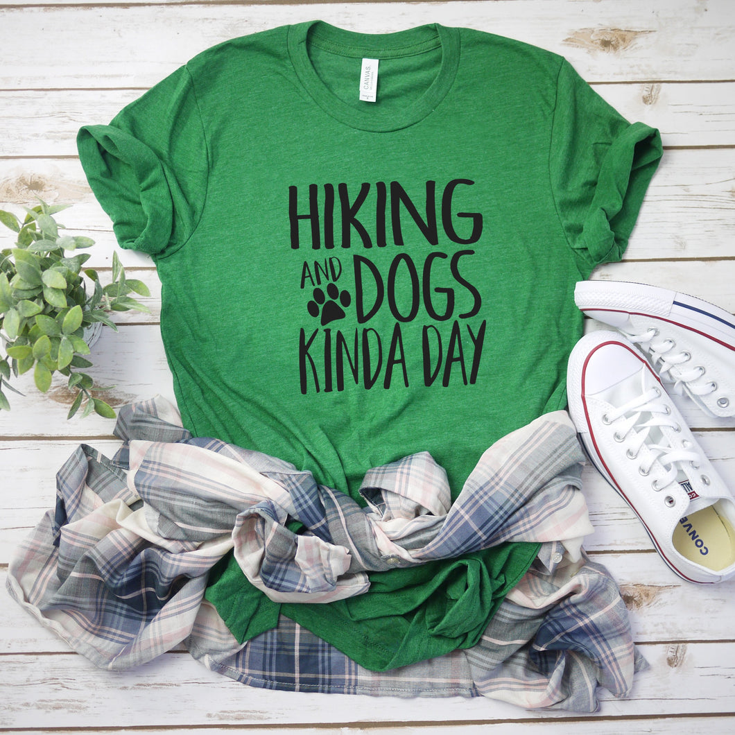 Hiking And Dogs Kinda Day-Plus Sizes
