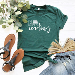 I'd Rather Be Reading-Plus Sizes