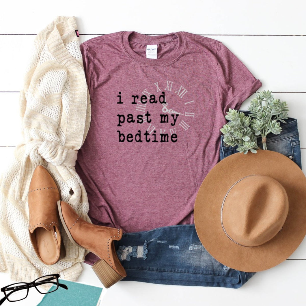 I Read Past My Bedtime-Plus Sizes
