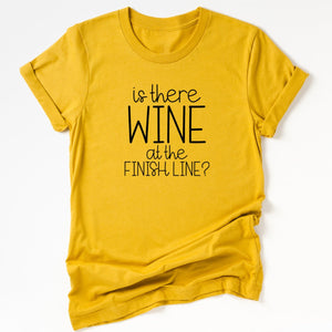 Is There Wine at the Finish Line?-Plus Sizes